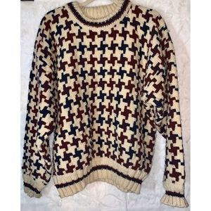PACHAMAMA Men's L Heavy WOOL Sweater from Equador
